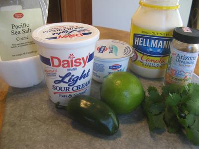 Baja fish tacos with mango salsa an inspired cook for Greek yogurt fish taco sauce