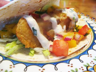 Sauce  Fish Tacos on Fish Taco 5