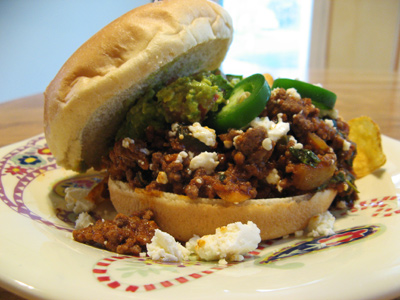 New Mex Sloppy Joes | An Inspired Cook