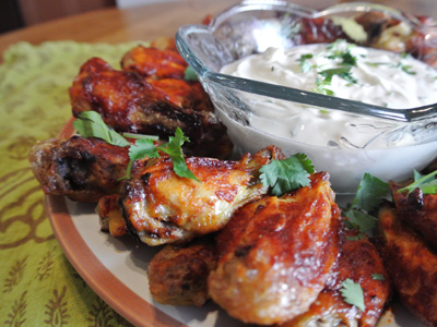 Spicy Chipotle Wings