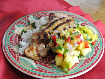 Soy-Ginger-Chicken-with-Pineapple-Salsa-2