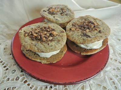 ... coffee ice cream and heath bar cookies coffee toffee ice cream bars