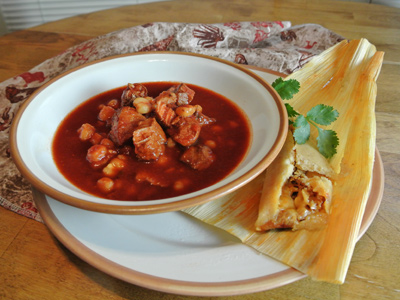 posole soup red posole pages pucks and pantry red posole 19 warming ...