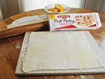 Peach-Dumplings-with-Vanilla-Cream-Sauce-7