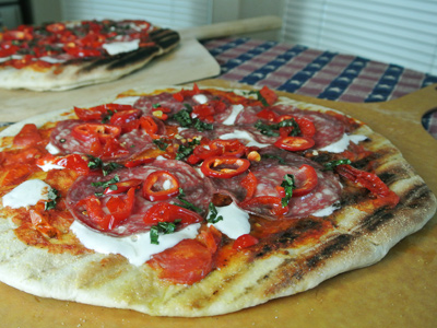 Sopressata-Grilled-Pizza-with-Sweet-and-Hot-Peppers-9
