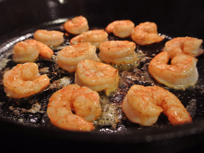 Then flip them over to sear another minute or two. Try not to overcook ...