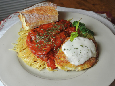 Chicken Parmesan with Fresh Tomato Marinara Sauce   An Inspired Cook