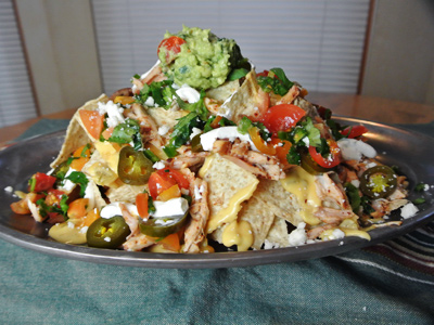 Ancho-Pulled-Chicken-Nachos-with-Green-Chile-Cheddar-Sauce-6